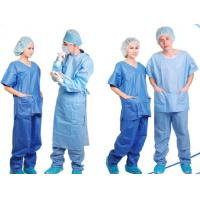China Disposable Patient Exam Gowns , Disposable Medical Protective Clothing  on sale