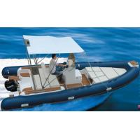 Wholesale Rigid Hull Inflatable Rib Boat Abrasion Resistance 600 Cm With Boat Trailer from china suppliers