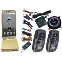 Buy cheap Reatime Online Smartphone Car Alarm System , Cell Phone Remote Start Gps Vehicle Tracking Systems from Wholesalers