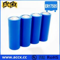 Wholesale A size ER17505M 3.6V 2800mAh non-rechargeable battery from china suppliers