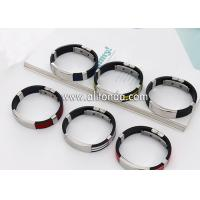 China Factory Supply Rubber Wrist Band Men Bracelet Custom Silicon Wristband  festival custom embossed silicone wristband for sale