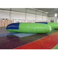 Quality 0.9mm PVC Inflatable Jumping Toys Blob Water Launcher With EN14960 for sale