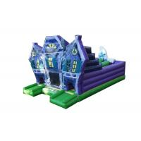 Wholesale Colorful Halloween Themed Giant Inflatable Obstacle Course For Children / Adults from china suppliers