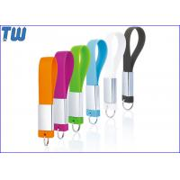 Buy cheap Strap Design 8GB USB Drive ECO-friend Silicone Material Brand Printing from Wholesalers