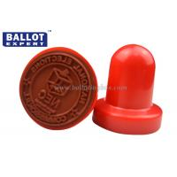 Quality Washable Round Rubber Hand Stamps For Handle Official Business , Small Ink for sale