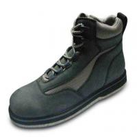 China Fishing Boots with Felt Sole, Available in Different Colors on sale