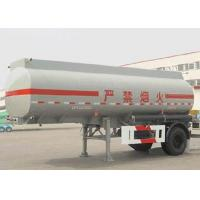 Wholesale Urban Fuel Transit Aluminum Tank Semi Trailer With 1 Axle 13000L Volume from china suppliers