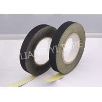Wholesale Black / White Adhesive Cloth Tape , 105°C 0.18mm Heat Resistant Insulation Tape from china suppliers
