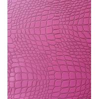 Wholesale Thickness 0.75mm PVC Synthetic Leather Good Abrasion Resistance Pink Color from china suppliers