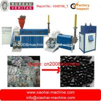 Wholesale Plastic Film Recycling Machine with force feeder,with auto filter changer from china suppliers