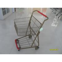 Buy cheap 40L Folding Grocery Shopping Trolley Q195 Low Carbon Steel For Supermarket from wholesalers