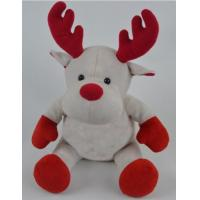 Wholesale Promotion Gifts Moose Reindeer Custom Plush Toys With 100% PP Cotton Fabric from china suppliers