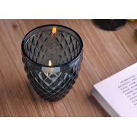 Wholesale ASTM ODM / OEM Blue color replacement candle holder glass Top dia 88mm from china suppliers