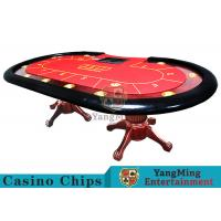 Wholesale Tiger Legs Poker Game Table With European Style Groove Design In Mesa Runway from china suppliers