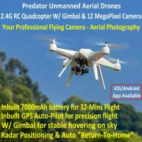 Wholesale Predator Unmanned Aerial Vehicle 7CH RC Quadcopter Drone Photography Fly Camera Recorder from china suppliers