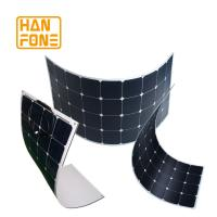 Wholesale SemiFlexible Solar Panel System 100 Watt For Backpack Or Tent Using from china suppliers