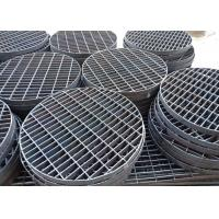 China 19-W-4 Untreatment Steel Grating Trench Cover For Manhole Covers And Drains for sale