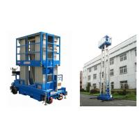 Quality Hydraulic Mobile Elevated Aluminum Work Platform With 12m Platform Height for sale