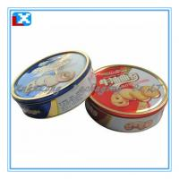 Wholesale high quality big round biscuit tin from china suppliers