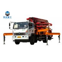 Wholesale 13.58 Weight Truck Mounted Boom Pump / Concrete Boom Pump Truck 66 KW Diesel Power from china suppliers