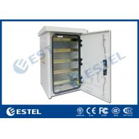 Wholesale DIN Rail Outdoor Pole Mount Enclosure Three - Point Lock With Fan Cooling from china suppliers
