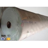 155 Width Glass Fiber Fireproof Fiberglass Fabric for Welding Blanket , Filter Bags