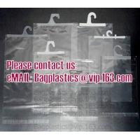 Wholesale Hanger vinyl portable pvc cosmetic, vinyl pack bags, pvc button bags, PVC promotion bag from china suppliers