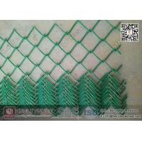 Wholesale Green Color PVC coated Chain Link Fence | 50X50mm mesh aperture | 3.8mm Wire from china suppliers