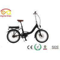 China Nexus 7 Speed Lightest Electric Folding Bike With Bafang Mid Drive Motor on sale