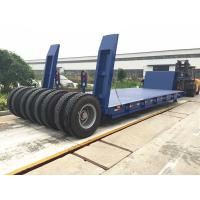 China Panda Truck trailer 3 axle low led semi  trailer for sale in Qatar on sale