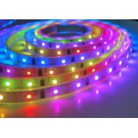 Customized Flexible LED Strip Lights RGBW Full Color Smart Voice control for sale