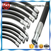 Wholesale Mine hydraulic support SAE 100 R1/R3/R5 5/8'' inch steel wire spiral hydraulic rubber hose from china suppliers