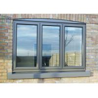 Morden Aluminium Tilt And Turn Windows With Timbar Surface Treament for sale