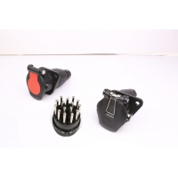 Wholesale Vehicles 24v 15 Pin ADR Screw Type Trailer Power Socket from china suppliers
