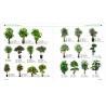 Buy cheap plastic mini bonsai plant artificial art flower artificial green trees plants from wholesalers