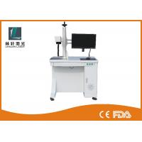 Wholesale Optical Fiber Laser Marking Machine Pulsed Laser For Plastic Bottle / Keyboard from china suppliers
