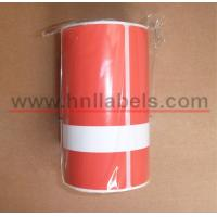 Wholesale Thermal Synthetic Optima test tags - 250 per roll(RED) from china suppliers