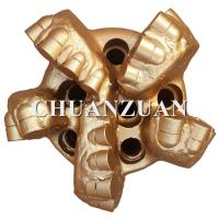 China Steel Body Polycrystalline Diamond Drill Bits 165MM 6 1/2 Inch With Middle Cutter on sale