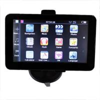 Quality HD Toucb-Screen GPS Car Navigation System With 128 Flash Memory for sale