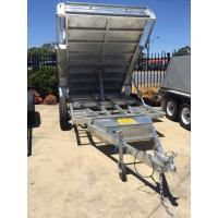 Buy cheap 5 Stage Ram 5 Ton 10x5 Galvanised Tandem Tipper Trailers 3200KG from wholesalers