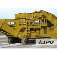 Wholesale Less Power Consumption Tracked Mobile Crushing Plant Used for Stone Crushing from china suppliers