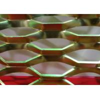 China Diamond Powder Coated Expanded Metal Mesh with 0 . 4 mm - 5 . 0 mm Thickness on sale
