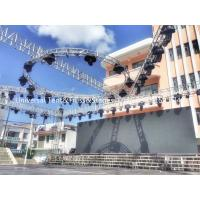 China Aluminum Stage Circular Lighting Truss For Parties , Long Work Life Times for sale