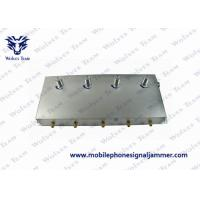 Wholesale 5-Band Portable 3G Cell Phone Signal Jammer Black from china suppliers