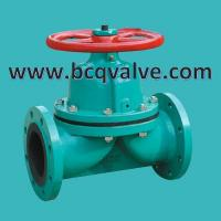 Quality BS5156 Flanged Lined or Unlined Rubber Weir type Diaphragm Valve for sale
