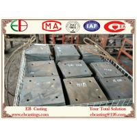 Wholesale ZG60Cr5Mo Martensite Cr-Mo Alloy Steel Plates HRC50 Material Handling for Cement Industry from china suppliers
