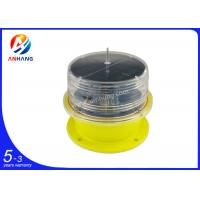 Wholesale Solar powered LED obstruction light/solar aircraft warning light ICAO type B/Solar tower lights from china suppliers
