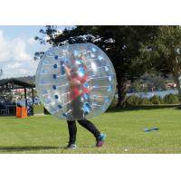 Wholesale 1.2m Diameter TPU / PVC Bubble Football , Outdoor Inflatable Toys 0.8mm Bubble Soccer from china suppliers