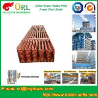 Wholesale Convection Platen CFB Style Boiler Superheater In Thermal Power Plant from china suppliers
