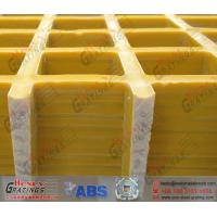 yellow color Fiberglass Reinforced Plastic Grating